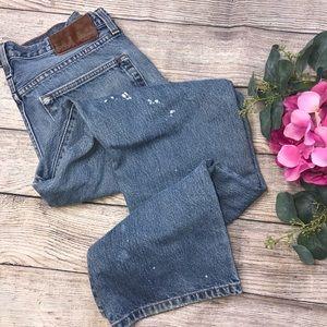 Vintage Eddie Bauer 34 x 32 Straight Leg Jeans